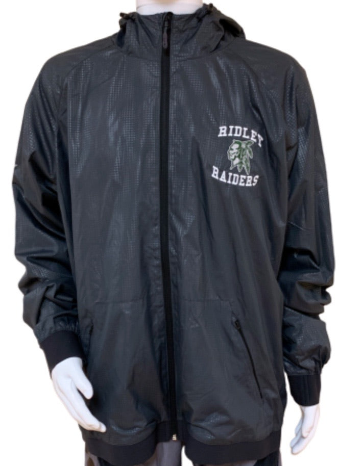 Men's Gray Windbreaker