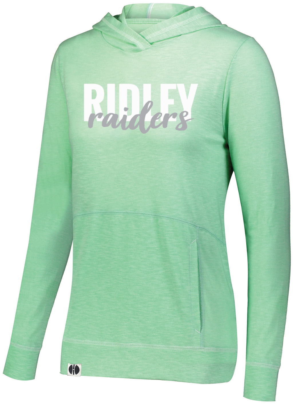 Women's Seafoam Green Ridley Raiders Holloway Hoodie