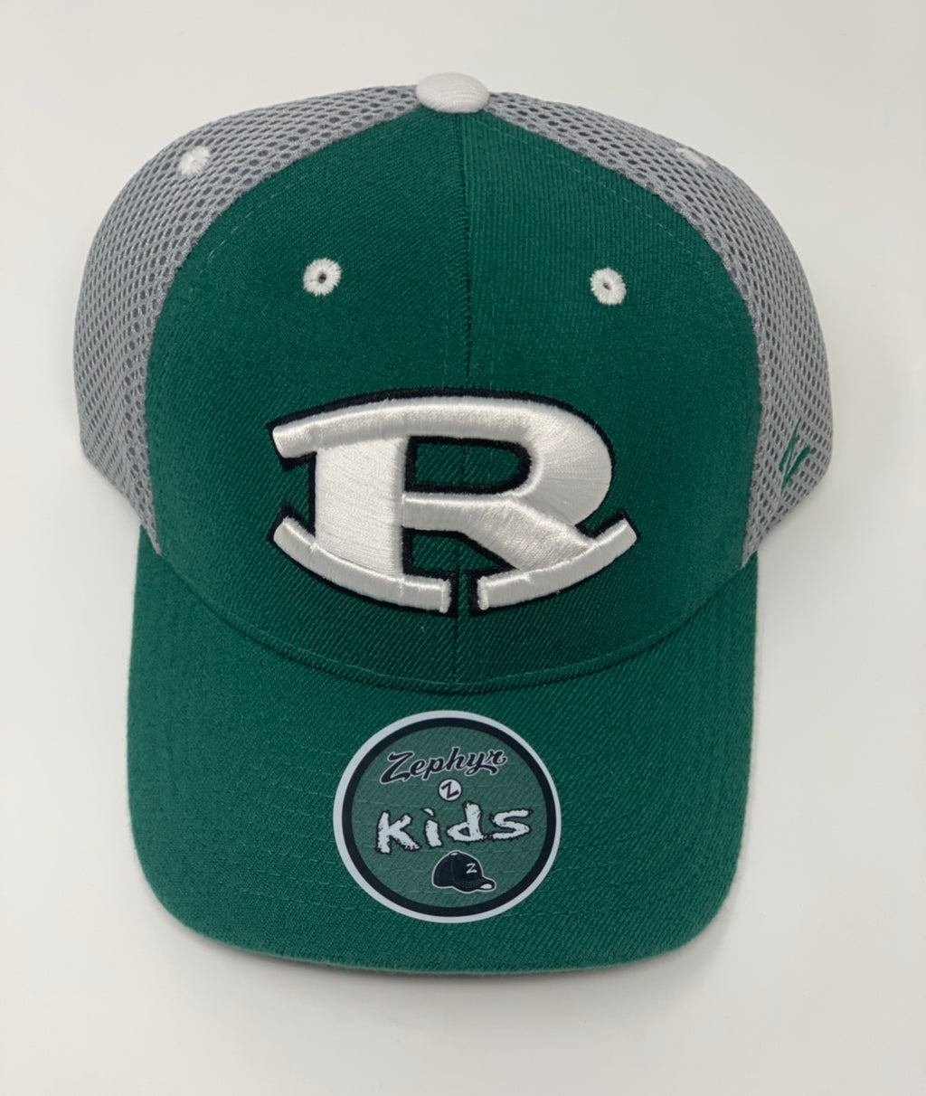 Green & Gray Rockin' R Hat
