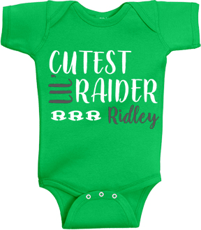Infant Green Onesie