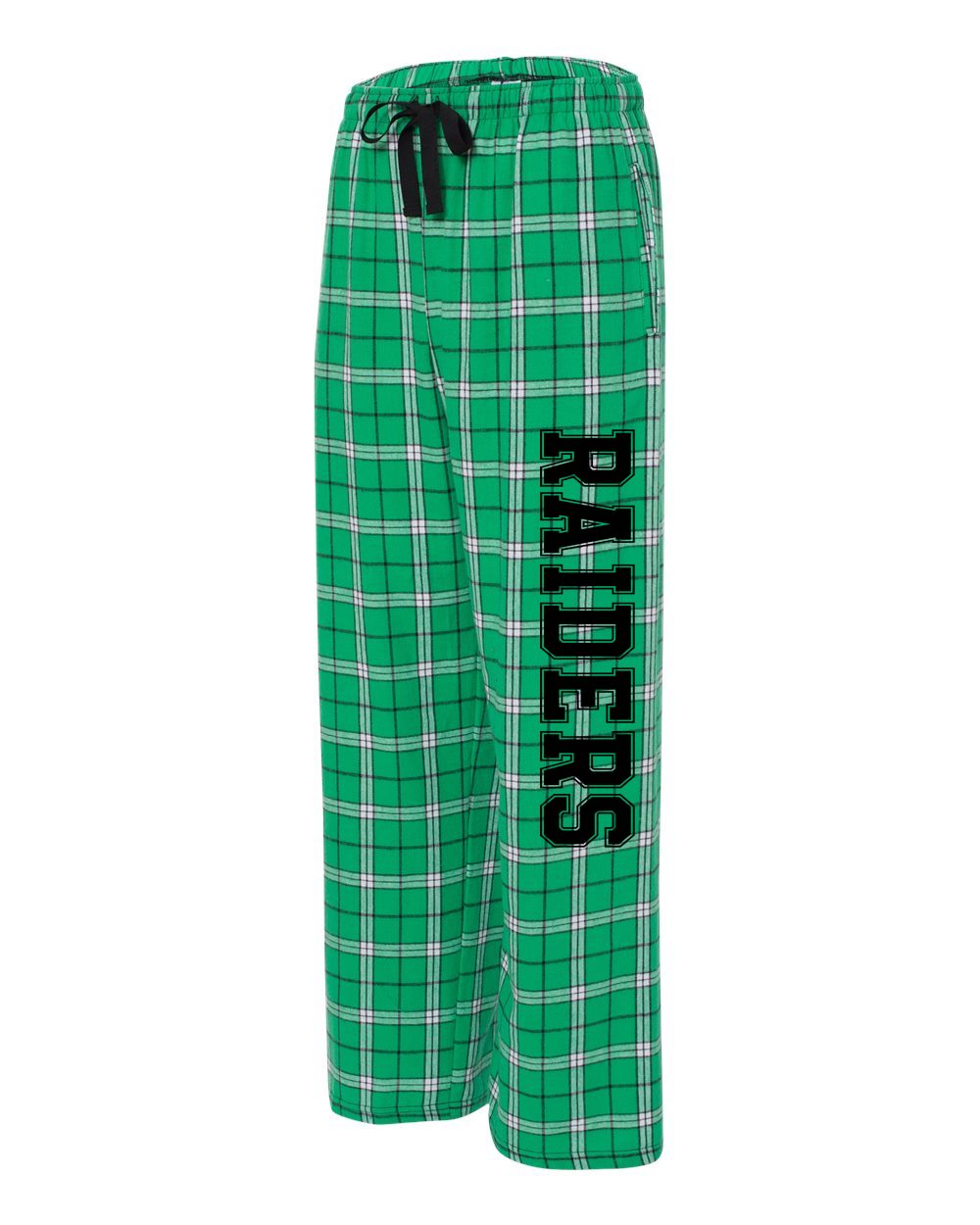 Adult Kelly Green Pajama Pants