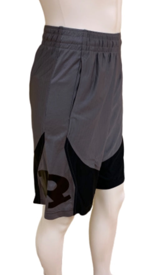 Men's UA Gray Basketball Shorts
