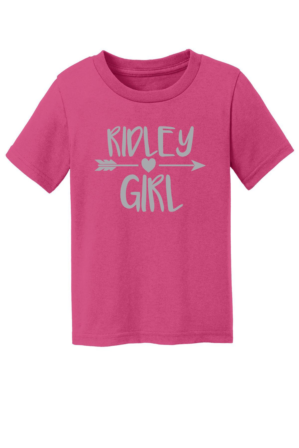 Toddler Pink Ridley Girl T-Shirt