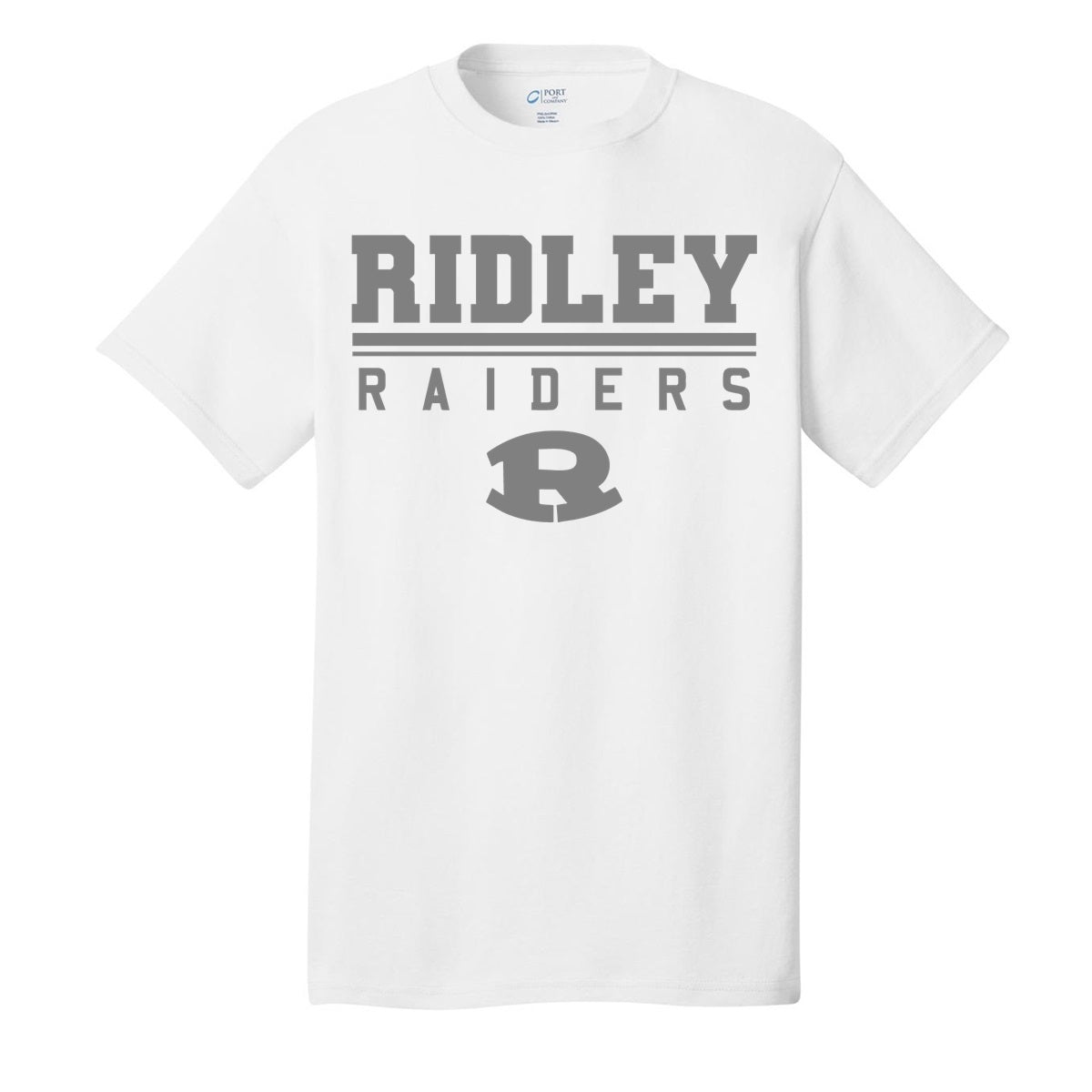 Ridley Raiders White & Grey T-Shirt
