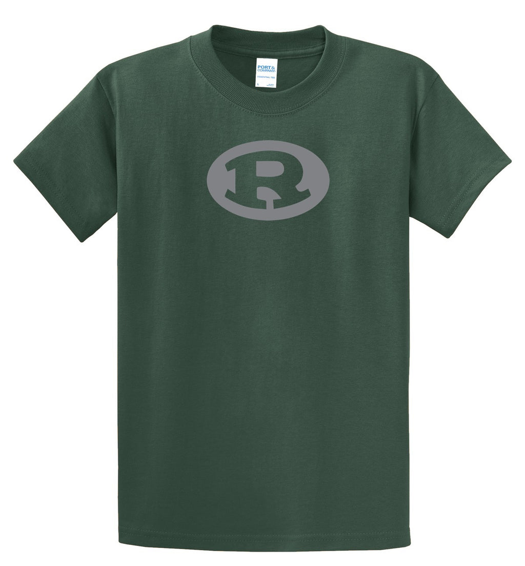 Rockin R Green and Gray T-Shirt