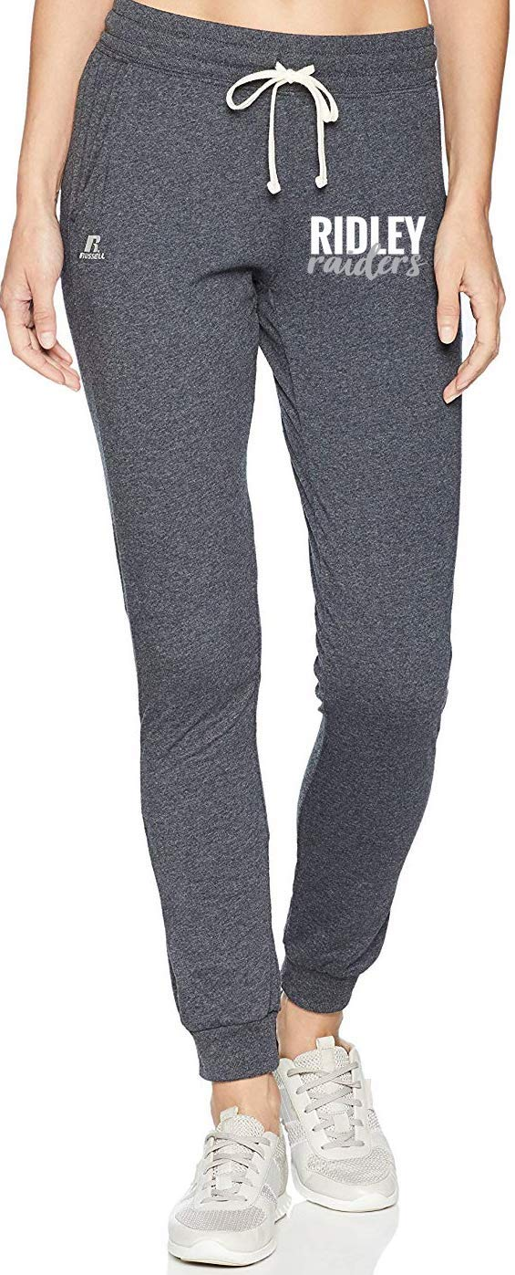 Women's Black Heather Lightweight Jogger Pant