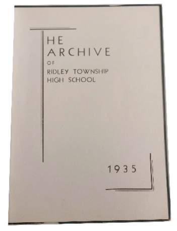 1935 The Archive - Ridley Yearbook