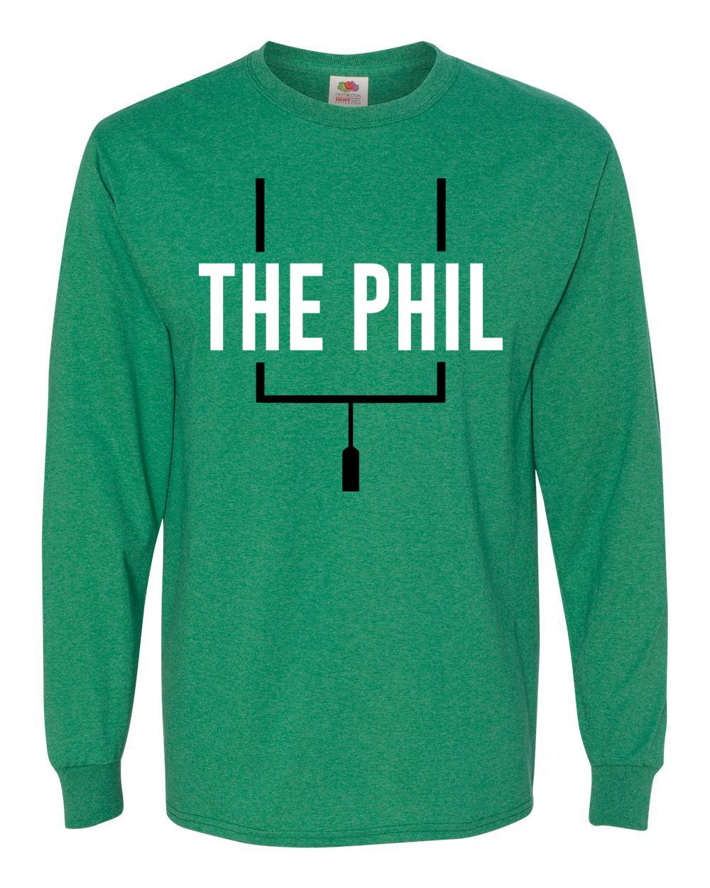 Adult The Phil Green Long Sleeve T-Shirt