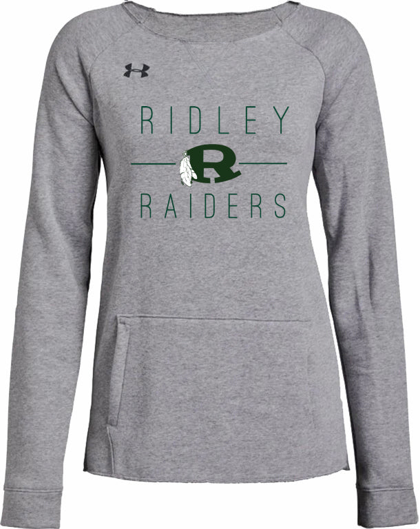 UA Women's Ridley Raider Hustle Fleece Crew