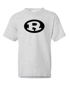 Youth Ash Gray Rockin R T Shirt