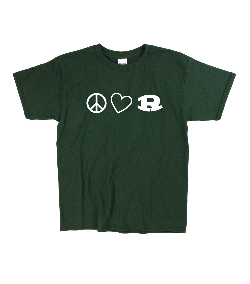 Girls Peace, Love, Ridley T-Shirt