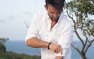 White Hemp Shirt made of 100% Hemp