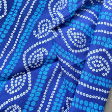 Load image into Gallery viewer, Cotton Bandhni Printed Fabric