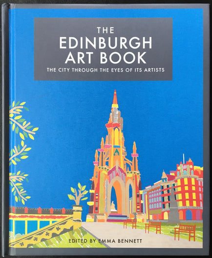 The Edinburgh Art Book Edinburgh Rainy Skies and Leith Walk Cassandra Harrison