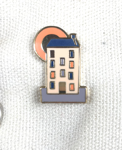 Autumn Tenement Pin