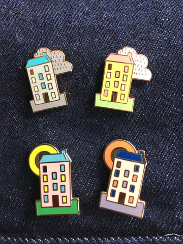 Four Seasons Pin Set