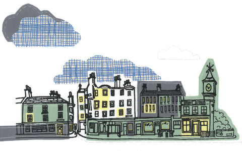 Stockbridge Clouds Print