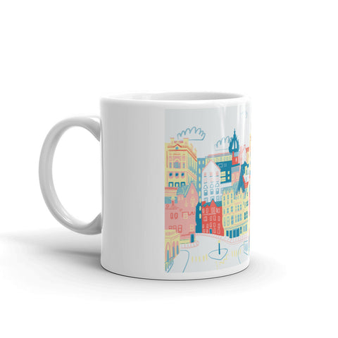 Edinburgh Illustration Mug