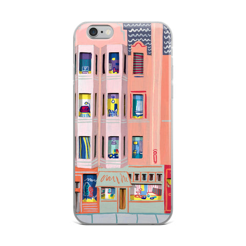 Edinburgh Shops iPhone Case