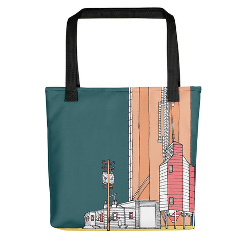 Tote Bag - Titan of the Midwest (teal)