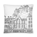 Edinburgh Castle Pillow