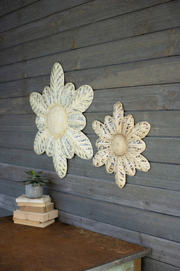 Rustic Wall Flowers