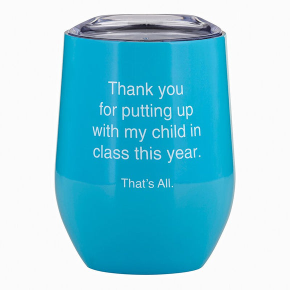 Teacher Wine Tumbler