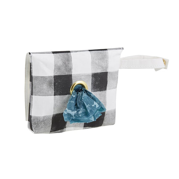 Buffalo Check Waste Pouch