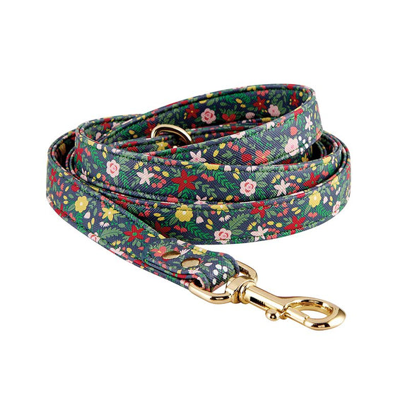 Saffiano Floral Leash