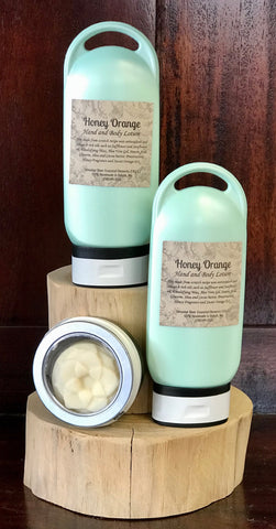Talmadge Honey Orange lotion