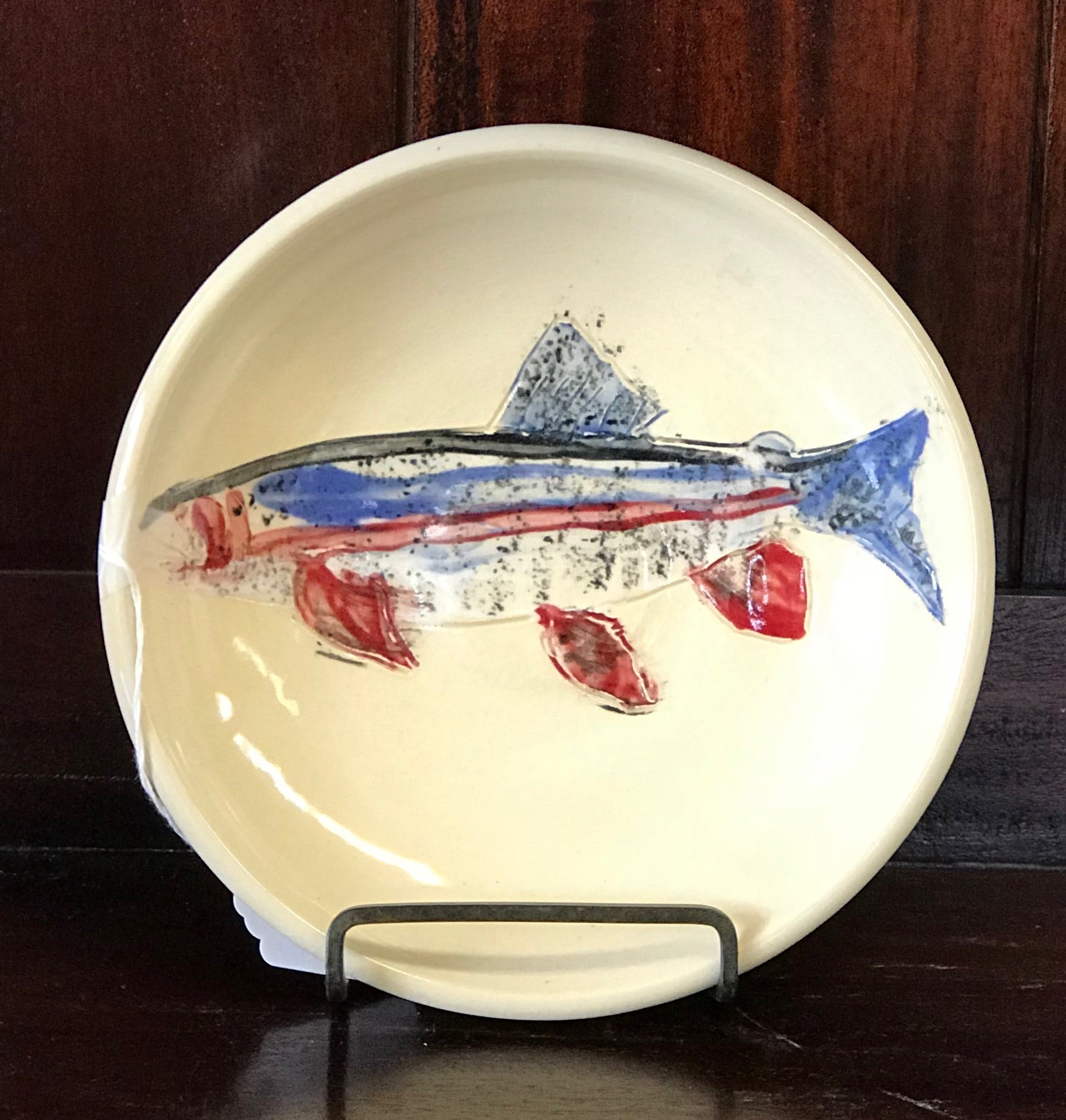 Handmade Small Trout Bowl