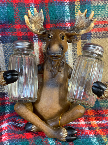 Moose Salt and Pepper Shaker
