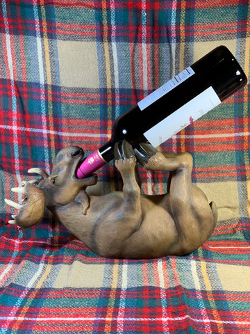 Moose Wine Holder