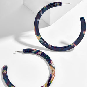 Multicolored Hoops