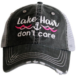 Lake Hair Don't Care Hat