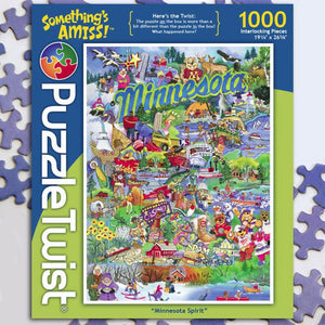 Puzzle Twist: Minnesota Spirit