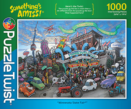 Minnesota State Fair 1000 Piece Puzzle