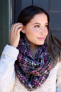 Gorgeous Woven Knit Scarf