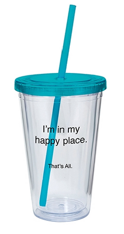 Happy Place Tumbler- 16oz