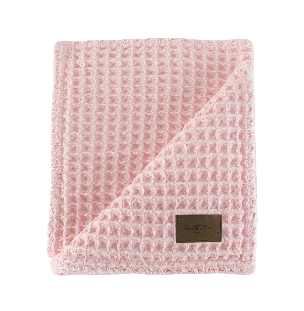Cloud Swaddle Blanket - Pink