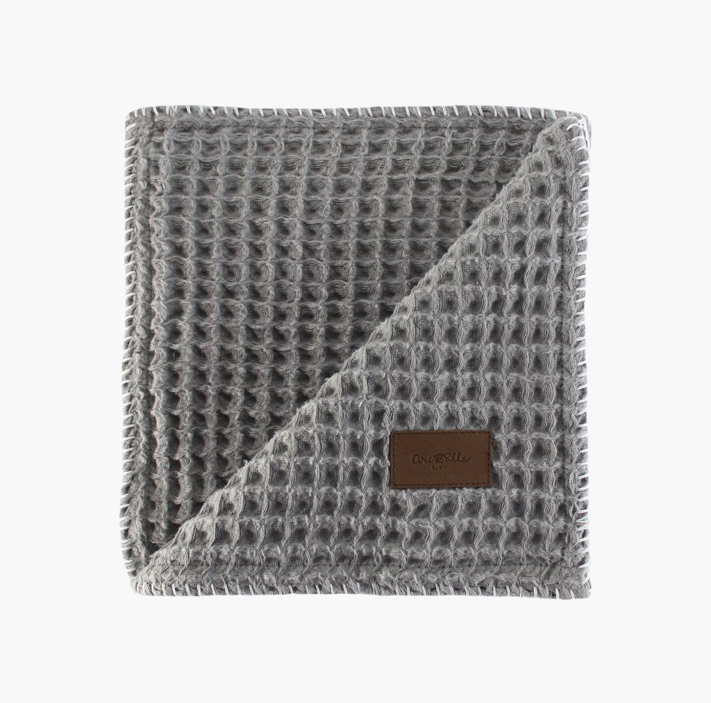 Cloud Swaddle Blanket - Steel Grey