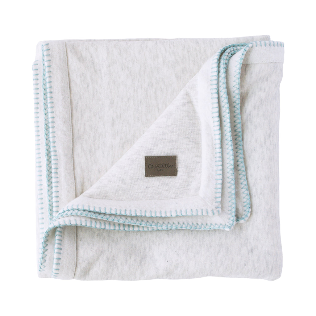 Wonder Dream Fleece Blanket - Light Grey