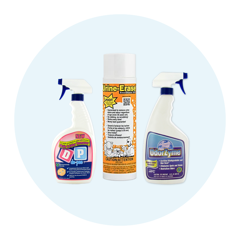 Odor and Stain Removers