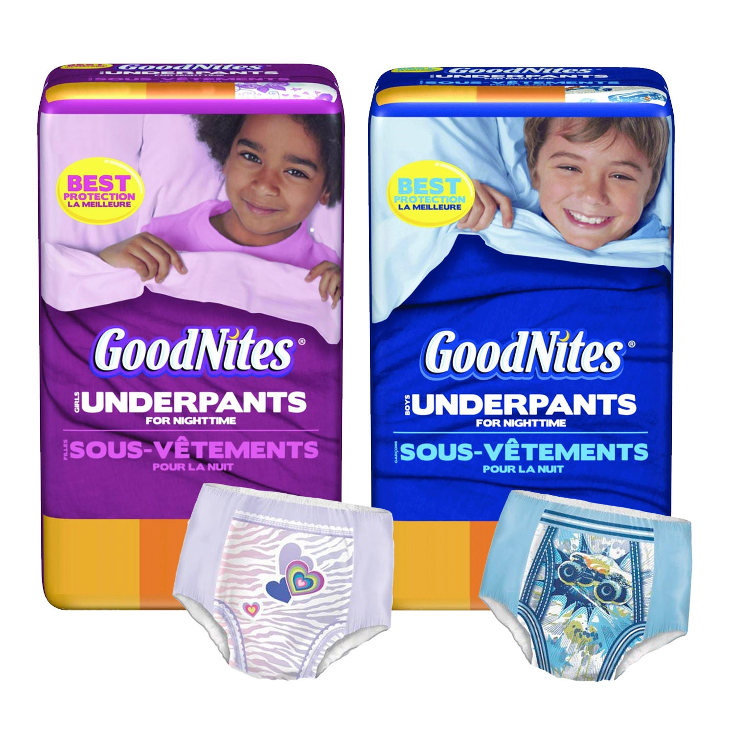 Disposables-GoodNites Absorbent Nighttime Pants