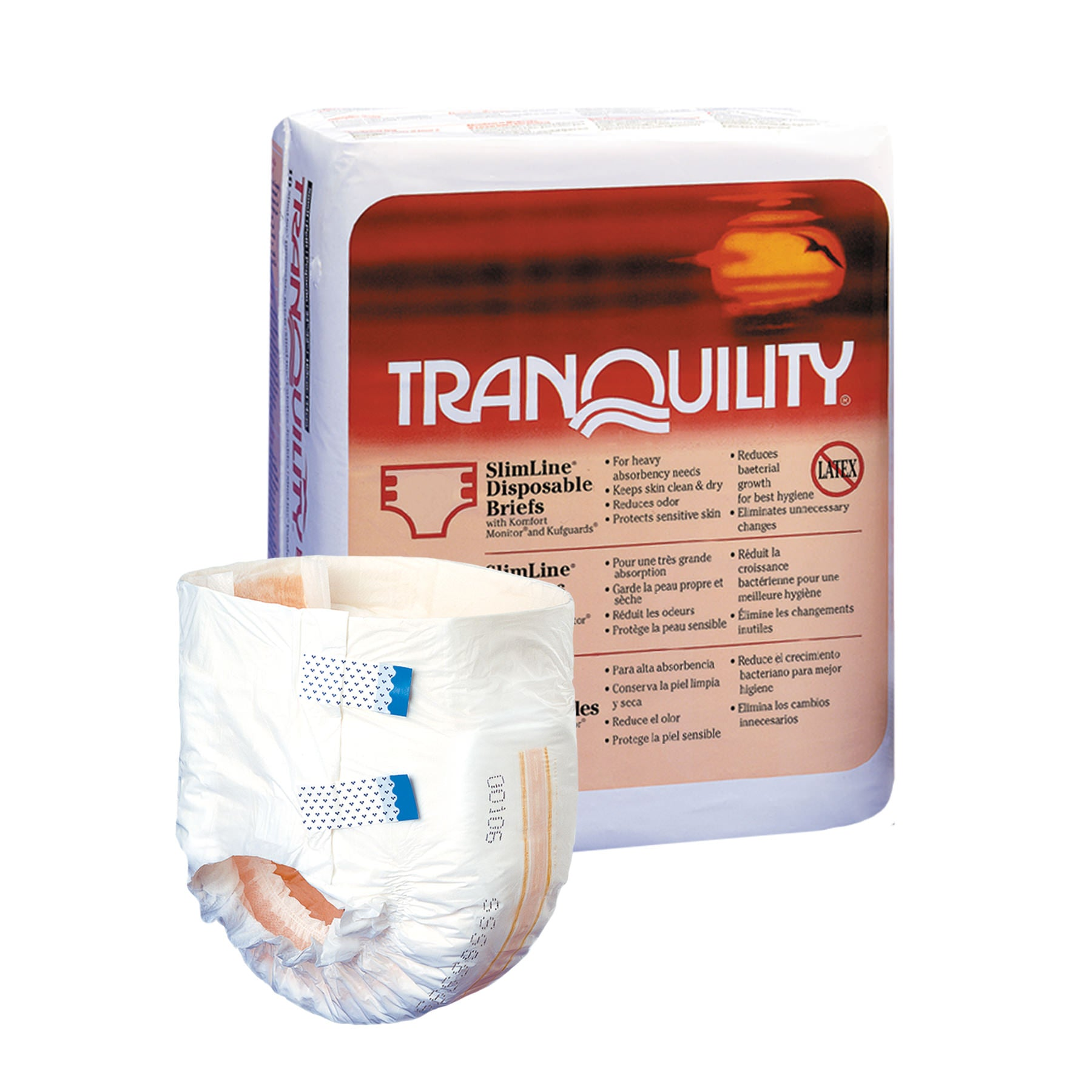 Disposables-Tranquility SlimLine Disposable Briefs