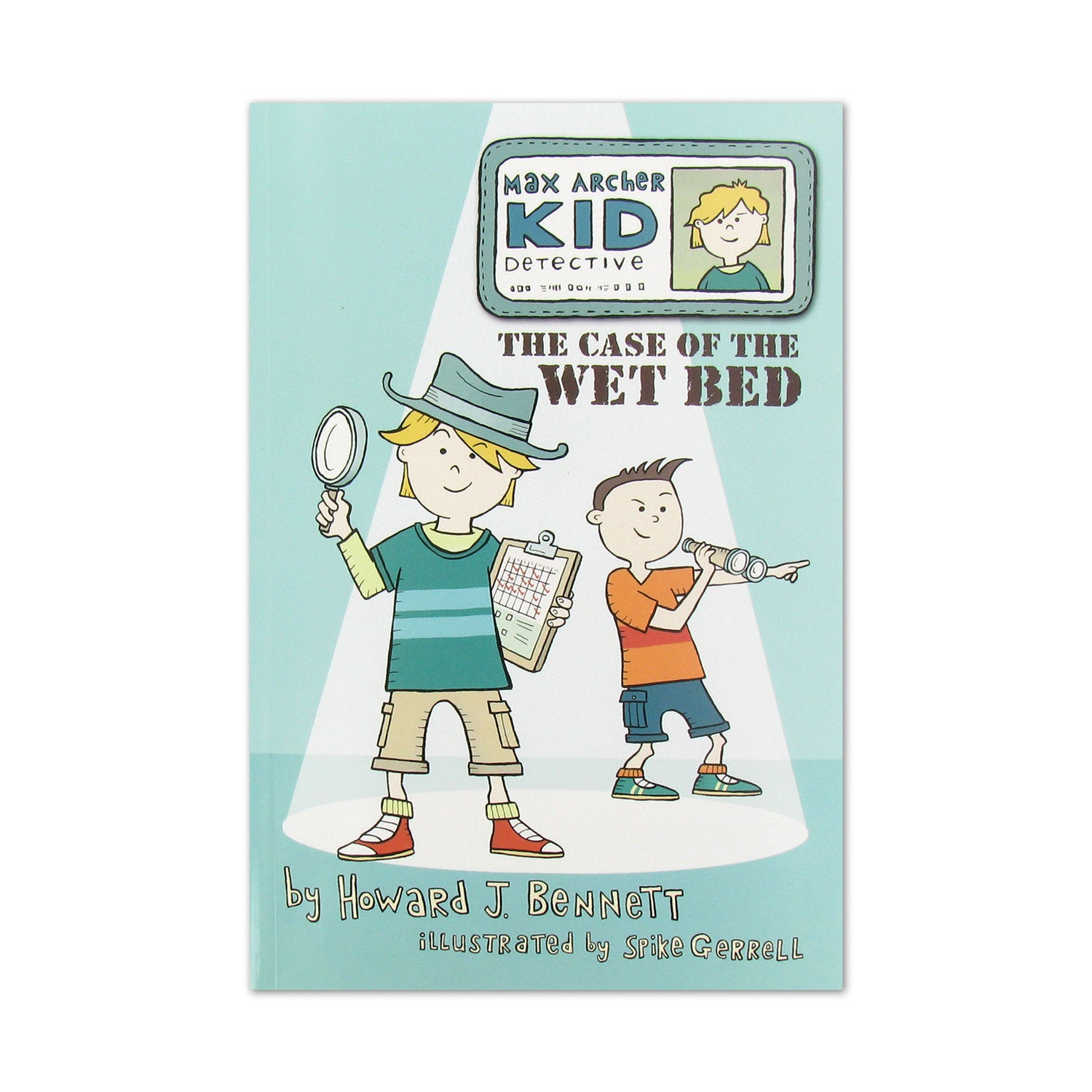 Books-Max Archer, Kid Detective: The Case of the Wet Bed