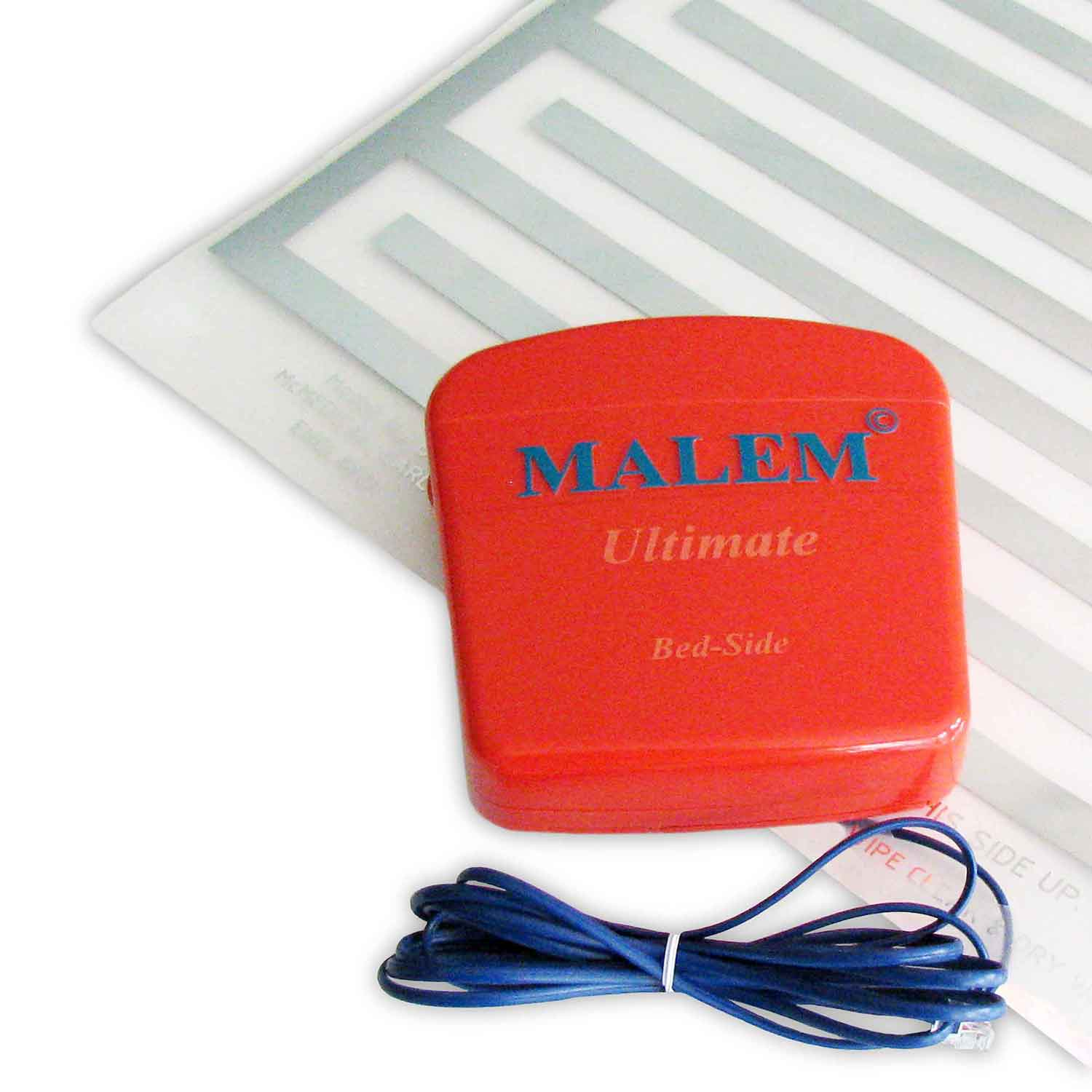 Alarms-Malem ULTIMATE Bed-side Bedwetting Alarm with Pad