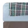 DRY DEFENDER QUILTED UNDERPAD - LUMBERJACK - On bed