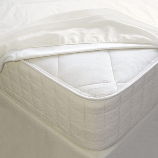 Bedding-NaturePedic Organic Breathable Waterproof Mattress Protector - Fitted