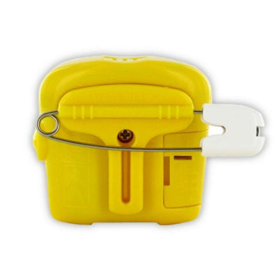 Reconditioned Malem Bedwetting Alarm with Sound - 8 Tone YELLOW